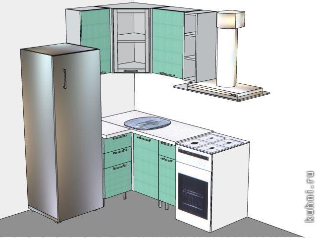 Угловые мини кухни фото